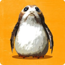 PORG (STAR WARS) WOODEN...