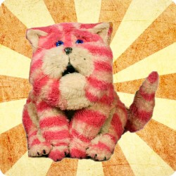 BAGPUSS WOODEN COASTER