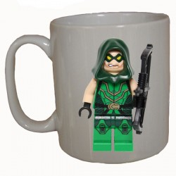 THE GREEN ARROW (LEGO) MUG