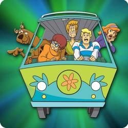 SCOOBY DOO FRIDGE MAGNET