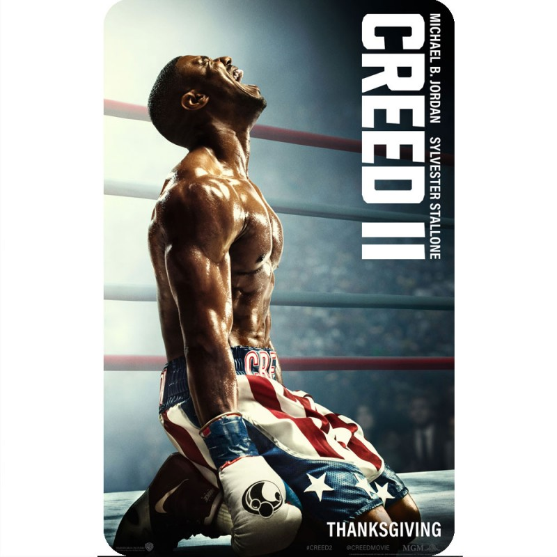 Creed 2 Creed Movie Poster Fridge Magnet