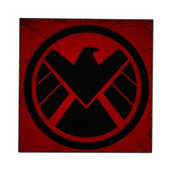 SHIELD LOGO (MARVEL) WOODEN...