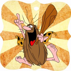 CAPTAIN CAVEMAN WOODEN...