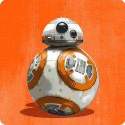 BB8 (STAR WARS) FRIDGE MAGNET
