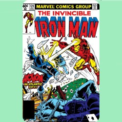 INVINCIBLE IRON MAN 124...