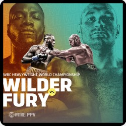 WILDER V FURY FIGHT POSTER...