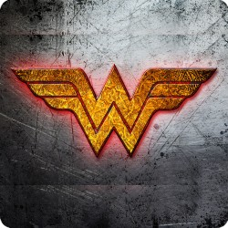WONDER WOMAN (LOGO) FRIDGE...