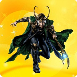 LOKI (THOR) FRIDGE MAGNET