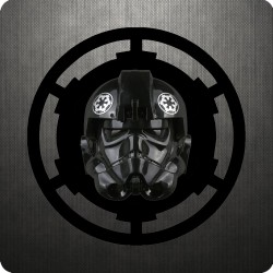 TIE FIGHTER PILOT - HELMET...