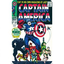 CAPTAIN AMERICA 100 (COMIC...