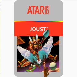 JOUST (ATARI 2600) GAME...