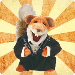 BASIL BRUSH WOODEN COASTER