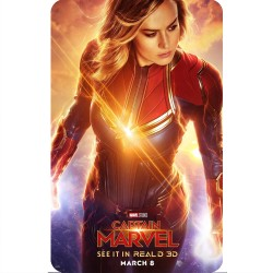 CAPTAIN MARVEL (REAL 3D...
