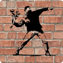 FLOWER THROWER (BANKSY)...