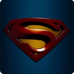 SUPERMAN (LOGO) FRIDGE MAGNET