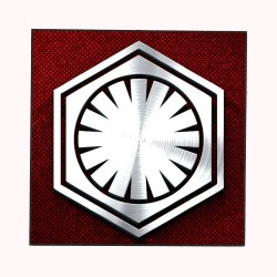 THE FIRST ORDER LOGO (STAR...