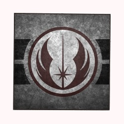 THE JEDI LOGO (STAR WARS)...