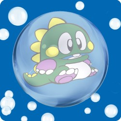 BUBBLE BOBBLE (BUB) WOODEN...