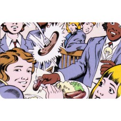 GRANGE HILL FRIDGE MAGNET