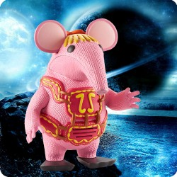 CLANGERS WOODEN COASTER
