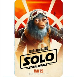 SOLO (RIO) MOVIE POSTER...