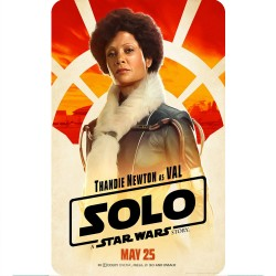 SOLO (VAL) MOVIE POSTER...
