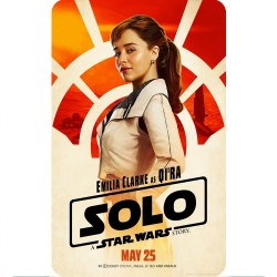 SOLO (QI'RA) MOVIE POSTER...