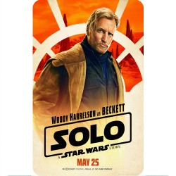 SOLO (BECKETT) MOVIE POSTER...