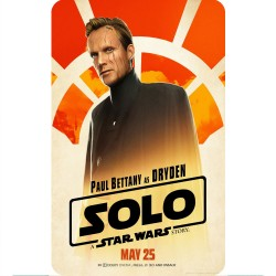 SOLO (DRYDEN) MOVIE POSTER...