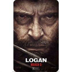 LOGAN (HEAD MOVIE POSTER)...