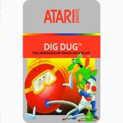 DIG DUG (ATARI 2600) GAME...