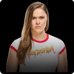 RONDA ROUSEY (WWE) FRIDGE...