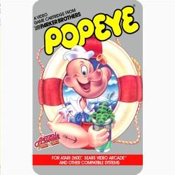 POPEYE (ATARI 2600) GAME...