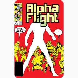ALPHA FLIGHT NO.25 (COMIC...