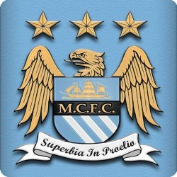 MANCHESTER CITY FRIDGE METAL