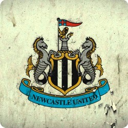 NEWCASTLE UNITED WOODEN...