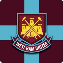 WEST HAM UNITED FRIDGE METAL