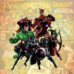 AVENGERS FRIDGE MAGNET