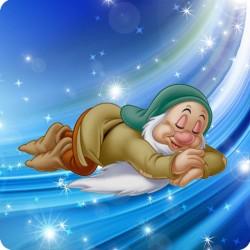 SNOW WHITE (SLEEPY) WOODEN...