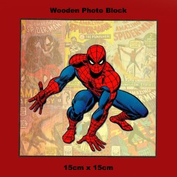 SPIDER-MAN (MARVEL) WOODEN...