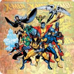 X-MEN WOODEN COASTER