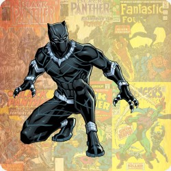 BLACK PANTHER FRIDGE MAGNET