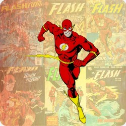 THE FLASH FRIDGE MAGNET