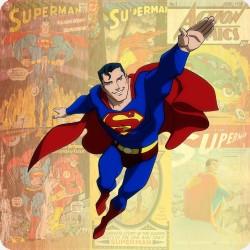 SUPERMAN WOODEN COASTER