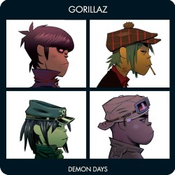 GORILLAZ (DEMON DAYS) ALBUM...