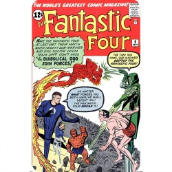 FANTASTIC FOUR 6 (COMIC...