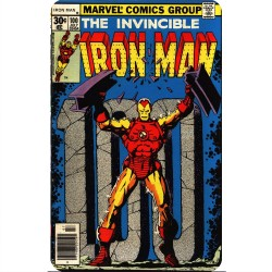 INVINCIBLE IRON MAN 100...