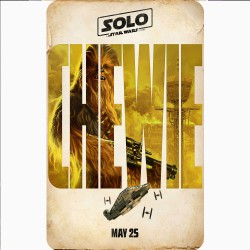 SOLO (CHEWBACCA) MOVIE...