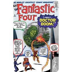 FANTASTIC FOUR 5 (COMIC...