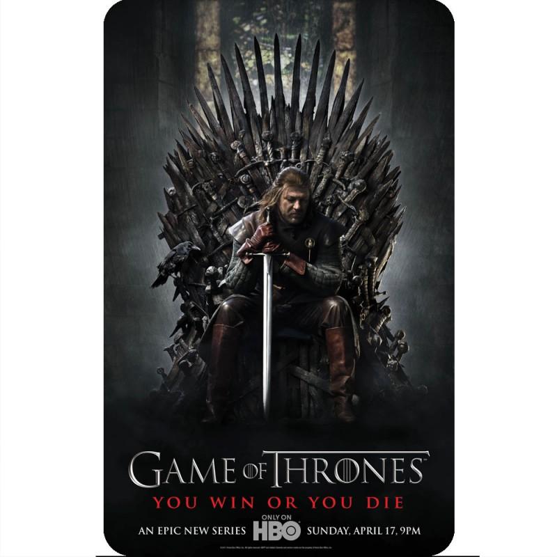 Game Of Thrones Season 1 Poster Fridge Magnet